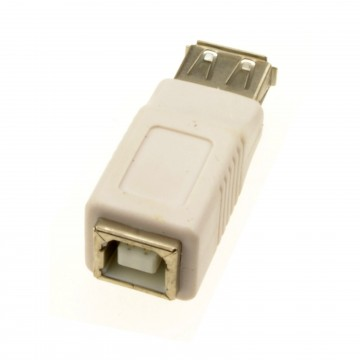 USB 2.0 B Type Printer Female Socket to A Type Female Socket...