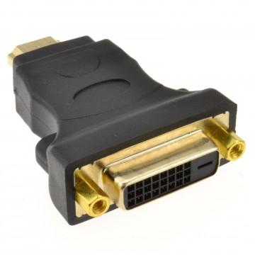 DVI-D 24+1 Socket to HDMI Digital Plug Adapter Converter...