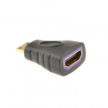 HDMI Female Socket to Mini Type C Male Plug Converter Adapter...