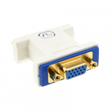PRO DVI 24+5 Socket to VGA Socket 15 pin Video Coupler Adapter...