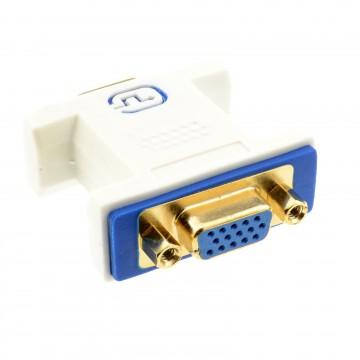 PRO VGA Coupler Socket to Socket 15 pin SVGA Joiner Gender Changer