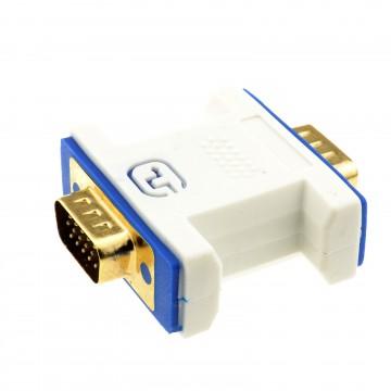 PRO VGA Coupler Plug to Plug 15 pin Video SVGA Joiner Gender...
