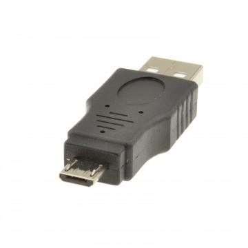 USB 2.0 A Male Plug to USB MICRO 5 Pin Plug Male Adaptor