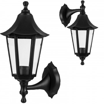 Wall-Mounted Outdoor Lantern Style Lamp Garden Light 270x155...