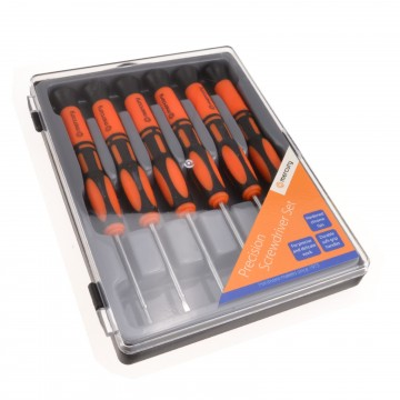Precision Screwdriver Set for Small Screws Philips and Flat...