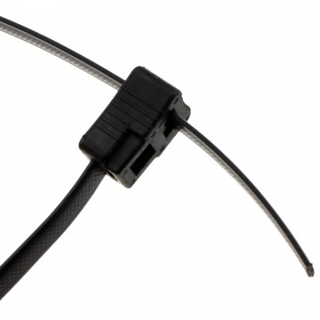 Made to Measure  7.6mm Wide Cable Tie with 10 x Locking Ends - 2m Long