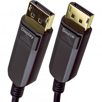 Long DisplayPort v1.4 Active Optical Cable AOC HDR 32Gbps 8K...