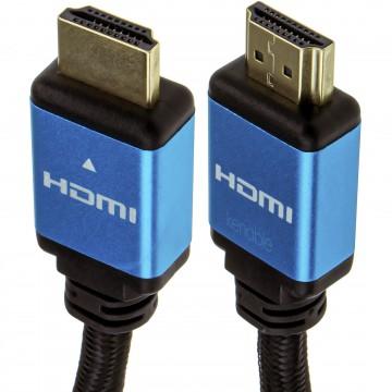 Certified HDMI 2.1 8K 60Hz 4K 120Hz UHD HDR10 4:4:4 48GBPS eARC 3m Blue