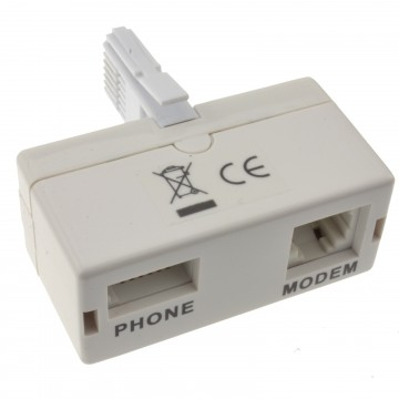 Dynamode HQ ADSL Micro-Filter MicroFilter UK Broadband Phone Splitter