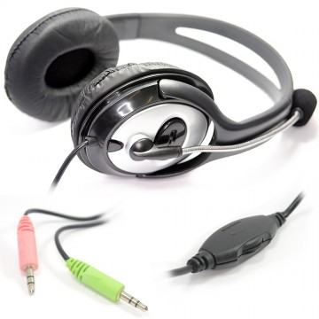 Dynamode DH-660 Stereo Headset with Microphone SKYPE/ZOOM/GAMERS