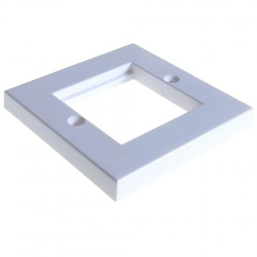 Faceplate 2 Port 86 x 86mm Low Profile Single Gang for RJ45 Modules