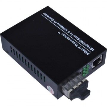 1000Mbps GIGABIT TX to FX SC 1000 Base MM Fibre Optic Media Converter