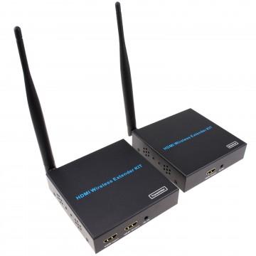 Wireless HDMI Sender Extender Kit 802.11AC 5.8GHZ 50m Range with IR