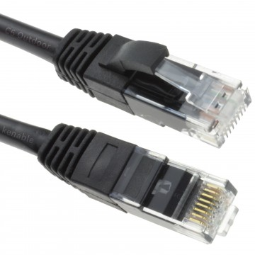Outdoor External CAT6 COPPER UTP Network Cable GigaBit Ethernet Patch Lead 50m