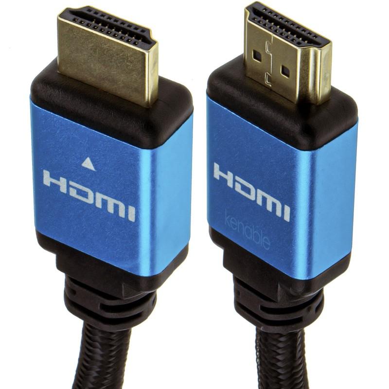 Certified HDMI 2.1 8K 60Hz 4K 120Hz UHD HDR10 4:4:4 48GBPS eARC 1m Blue