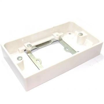 Single 1 Gang Wall Socket to Double Wall Gang Socket Converter