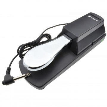Sustain Pedal For Digital Piano or Keyboard 1.5m 6.35mm Mono Cable