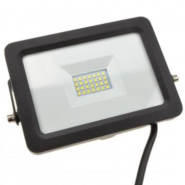 LED Floodlight Light  20W 240V IP65 Tilting Outdoor 6000K Flood
