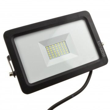 LED Floodlight Light  30W 240V IP65 Tilting Outdoor 6000K Flood