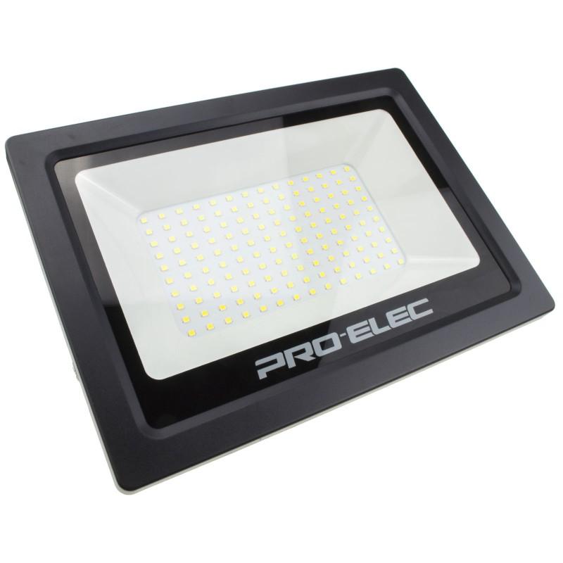 LED Floodlight Light 100W 240V IP65 Tilting Outdoor 6000K Flood