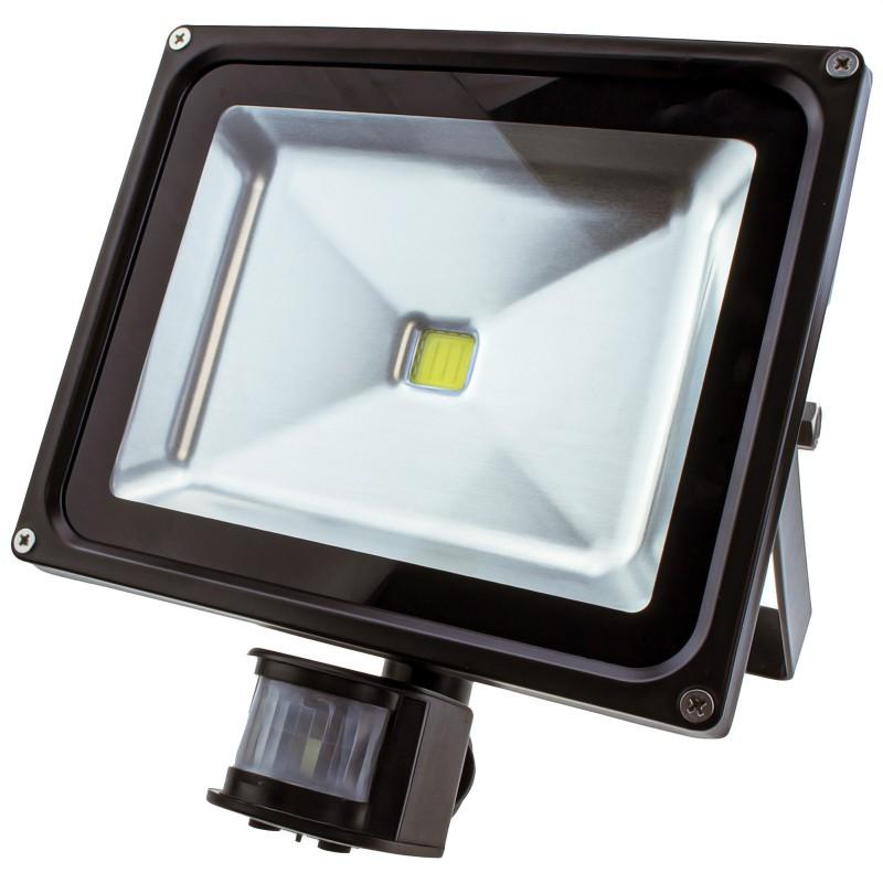 LED PIR Motion Sensor Flood Light 30W Outdoor Garden Security LAMP Waterproof