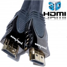 Peerless HDMI Delta High Speed Cable With Ethernet 3D TV 10m