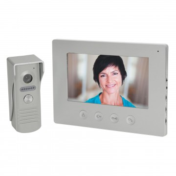 7 inch Inch Colour Video Door Phone Security Day or Night 2 Way Intercom