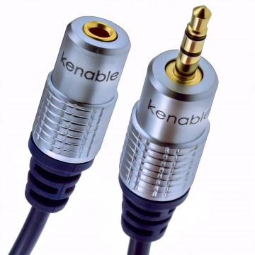Pure OFC HQ 3.5mm Jack to Stereo Jack Socket Headphone...