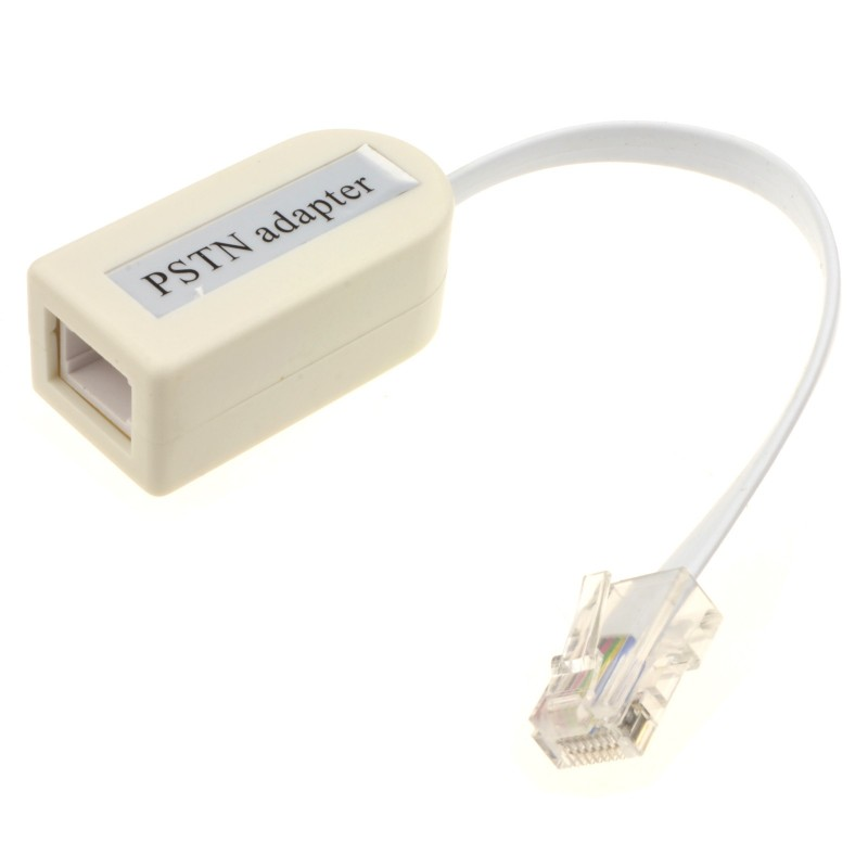 RJ45 to BT Socket Adapter for Primary PSTN Master Phone Line