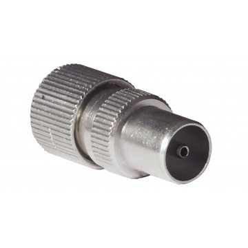 TV Aerial RF Male Self Crimping Coax Plug for Coaxial Cables