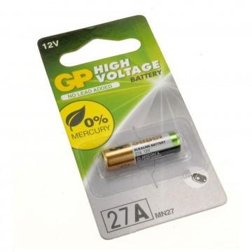 GP High Voltage Battery 27A MN27 12V - 1 Pack