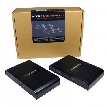 HDMI Over Powerline Extender with IR - HDbitT Sender & Receiver