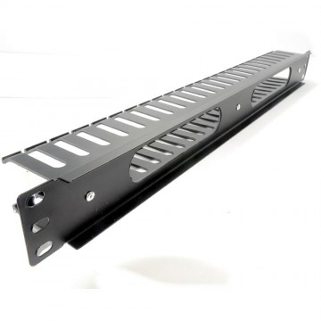 Cable Tidy Management 19 Universal Panel 1U With Rear Vent