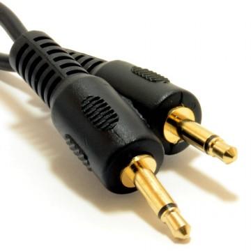 Mono 3.5mm Jack Plug to Mono 3.5mm Jack Plug Cable Lead 0.5m...