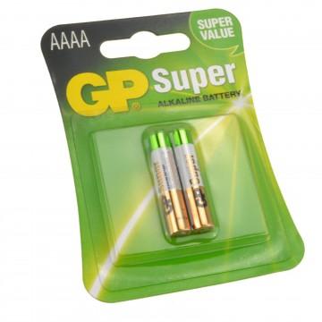 GP AAAA 1.5V Super Alkaline Batteries MX2500 E96 LR8D245 [2 Pack]