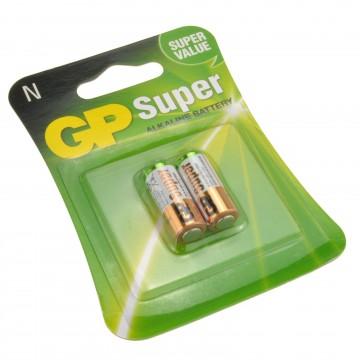 GP N 1.5V Super Alkaline Batteries LR1 MN9100 E90 [2 Pack]