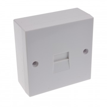 Telephone Secondary IDC Punch 2/3A Phone Line Socket with Back...