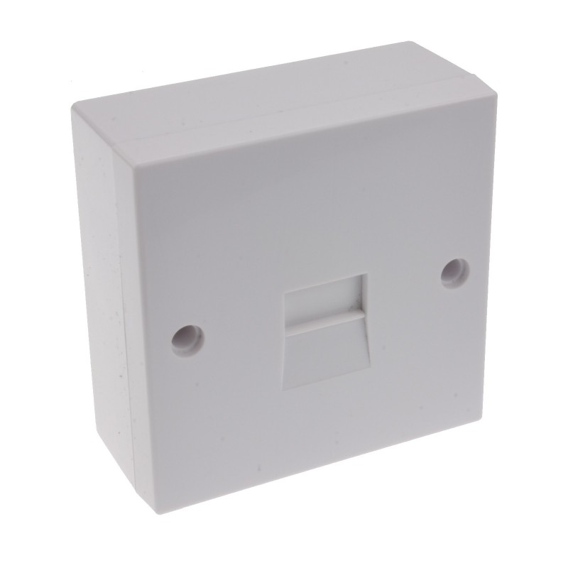 Telephone Secondary IDC Punch 2/3A Phone Line Socket with Back Box