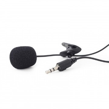Clip On Mic Lapel Microphone for PC Talk Skype/Live Chat 3.5mm Jack