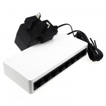Tenda 8 Port 10/100 Switch Mini SOHO Desktop RJ45 Network with...