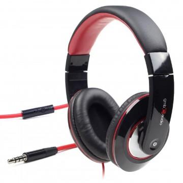 Boston Noise Cancelling Stereo Music Headphone Headset/Mic [4 Pole Mobile Phone]