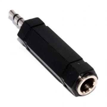 3.5mm HQ Bandridge Stereo plug to 6.35mm Stereo Socket Audio...