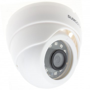 Indoor 4MP Day & Night CCTV HD Security Dome Camera 20m IR White