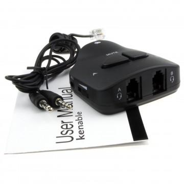 Call Centre Telephone Handset/Headset Training Adapter...