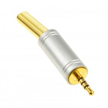 2.5mm 4 Pole Audio/Video/Mic Soldering Terminal End Jack Plug...