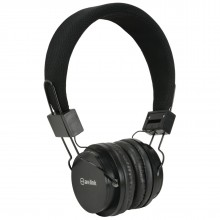Kids Headphone with Hands Free Mic Control & Cushioned Earpads Black