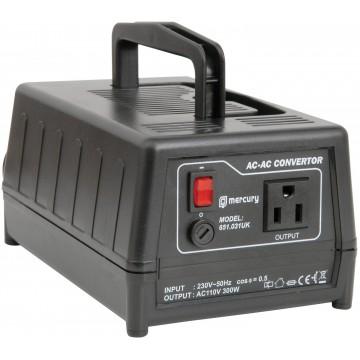 Step Down Mains AC Voltage Converter 230V to 110V 300VA 300W US To UK Plug