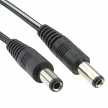2.5mm x 5.5mm DC Connector Lead Male to Male Power Cable 3m