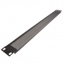 Mesh Vented 1U Blanking Plate for 19 inch Rack Mounted Data Cabinet