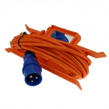Caravan/Motorhome 3 pin Electric Hookup 2.5mm 16A Mains Extension Cable 10m